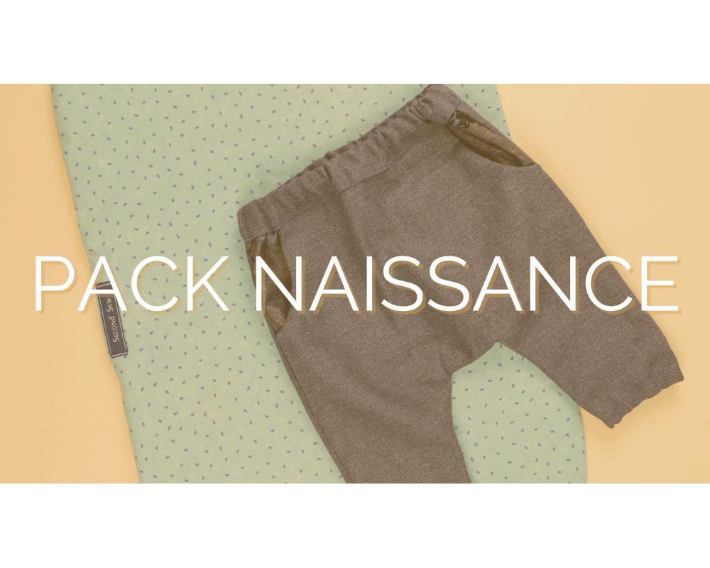 PACK NAISSANCE | SECOND SEW | Mode éthique enfant