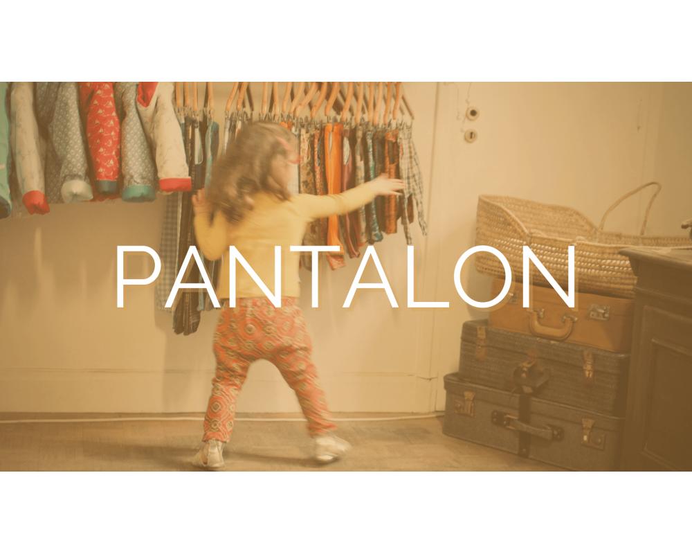 PANTALON | SECOND SEW | Mode éthique enfant