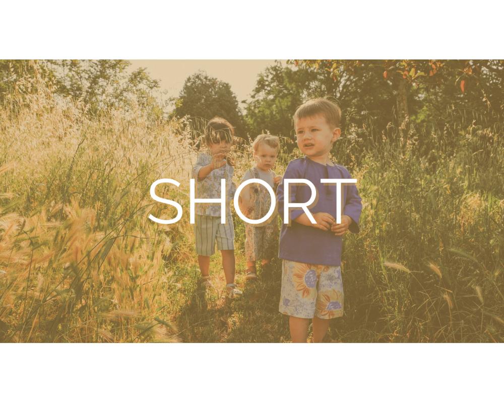 NOS SHORTS | SECOND SEW | Mode éthique enfant