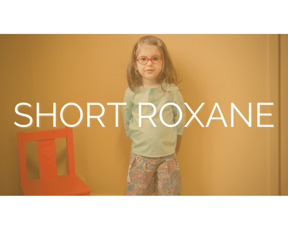 SHORT ROXANE   SECOND SEW   Mode éthique enfant
