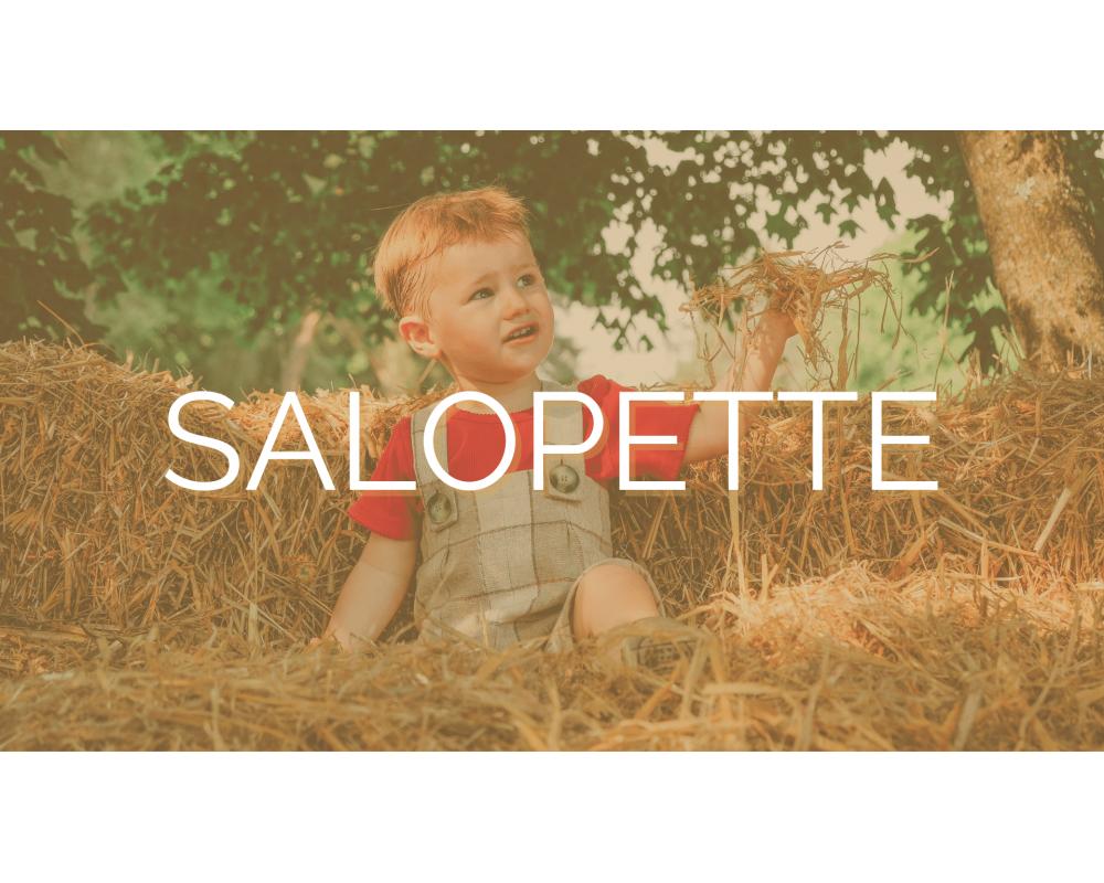 SALOPETTE | SECOND SEW | Mode éthique enfant
