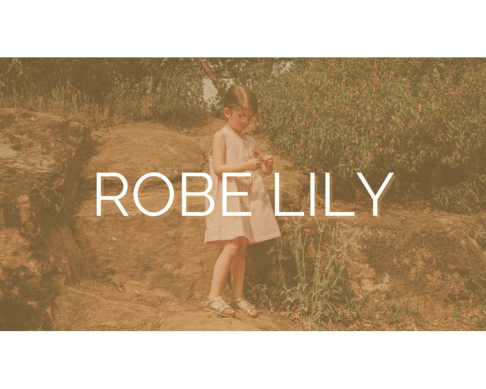 ROBE LILY | SECOND SEW | Mode éthique enfant